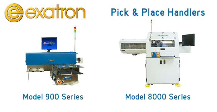 Exatron Pick & Place Handlers