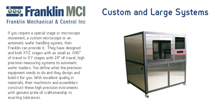 Franklin Custom and Large Systems